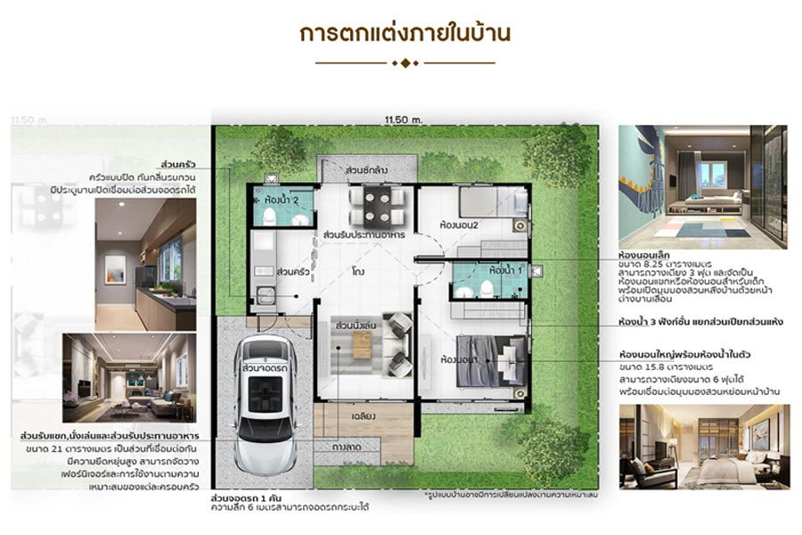 THE LILAC 3 @ SPRING CITY – บ้านแฝด, แบบบ้าน