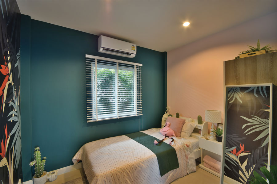 Townhomes-Floor.1_Bansouy-PlusBanpho_mygreen_bedroom